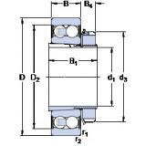 Rolamentos 2309 E-2RS1KTN9 + H 2309 SKF