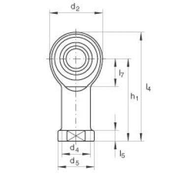 FAG Cabeças articuladas - GIKR12-PW