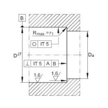 FAG Rolamento axial de esferas de contato angular - ZKLN3062-2RS-PE