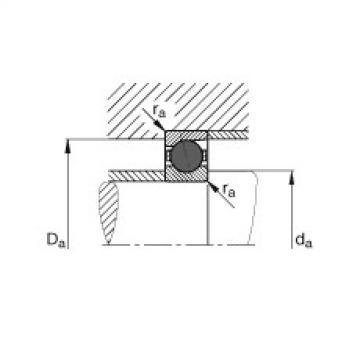 FAG Mancais do fuso - HCB7004-E-T-P4S