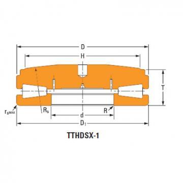 Sistemas de parafusos empurrar rolamentos cônicos T12040fs-T12040s