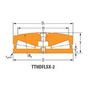 Sistemas de parafusos empurrar rolamentos cônicos a-6639-a